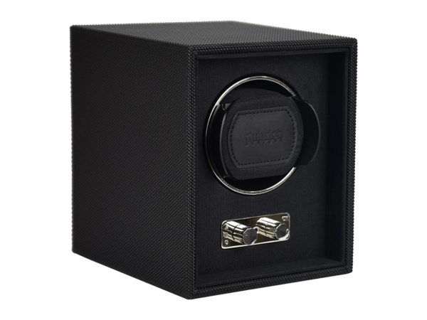 Black Single Watch Winder Box