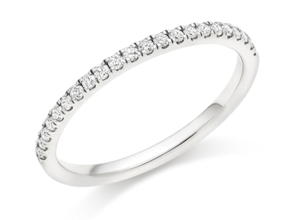 Brilliant Cut Diamond Micro Claw Set Ring