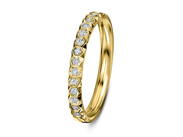 Chapiteau Diamond Wedding Ring