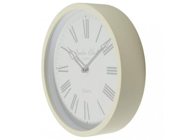 Cream Alice London Clock
