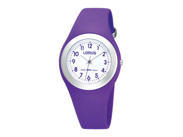 Lorus Purple Soft Silicon Watch