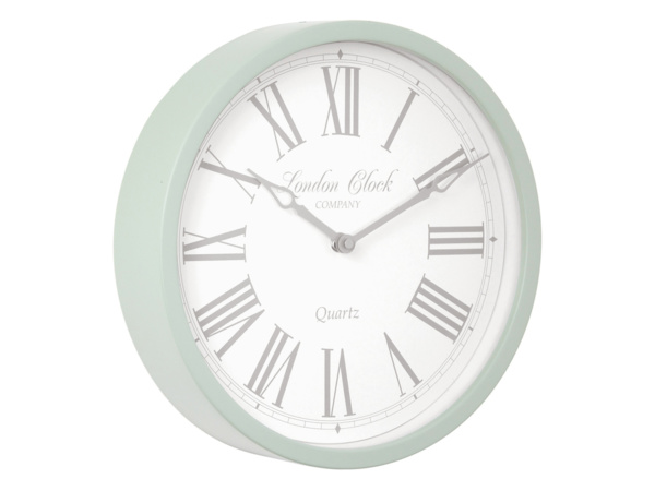 Sage Green Alice London Clock
