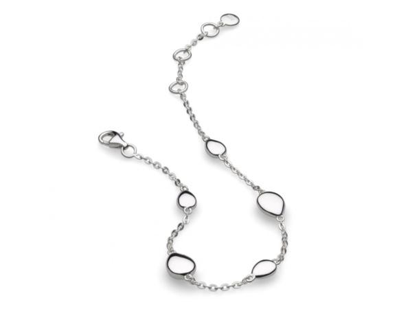 Silver Coast Tumble Bracelet