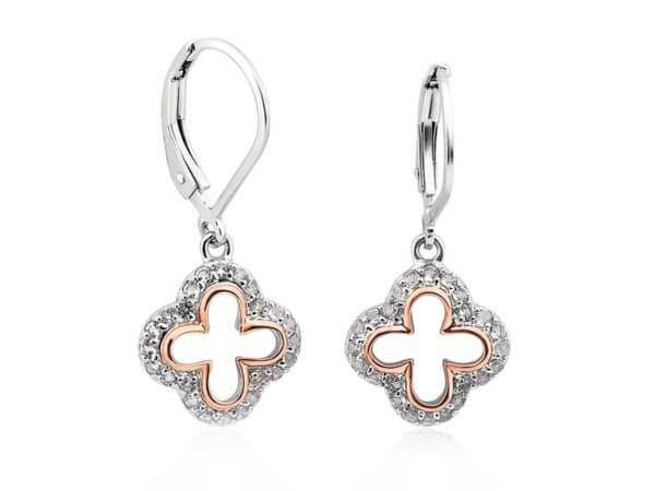Silver Tudor Court Earrings