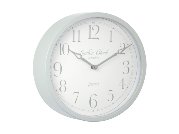 Soft Grey Alice London Clock